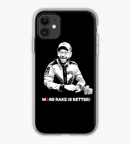 More Rake Is Better iPhone Case