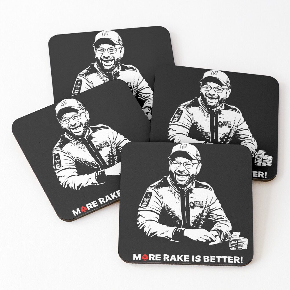 More Rake Is Better Coasters (Set of 4)