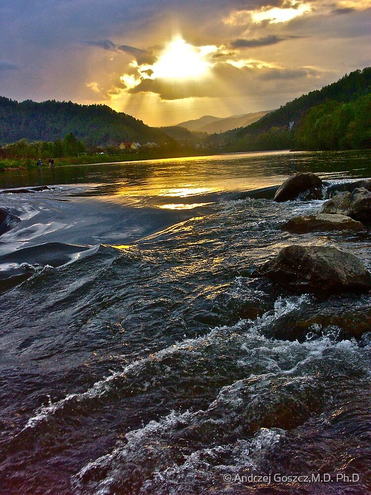 My wonderful Dunajec River . Poland . by Brown Sugar . Views (275) . Favs (3) Dziękuję bardzo ! , Muchas gracias ! Danke ! Thanks !!!  :-)) by © Andrzej Goszcz,M.D. Ph.D