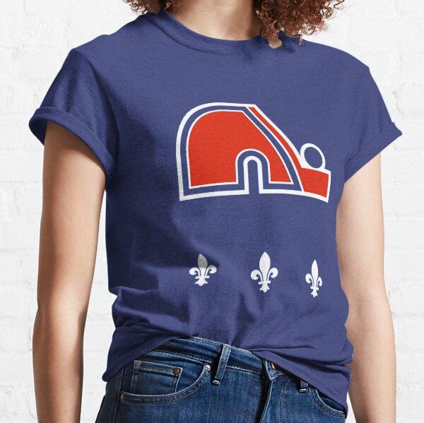 Hockey Québécois Vintage - Retro Nordiques T-shirt classique