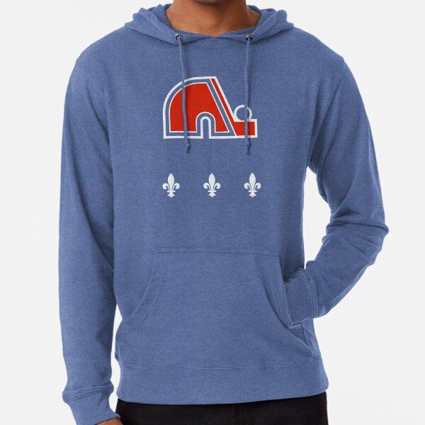 Vintage Quebec Hockey - Retro Nordiques Lightweight Hoodie