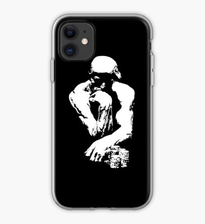 The Thinking Man Poker iPhone Case