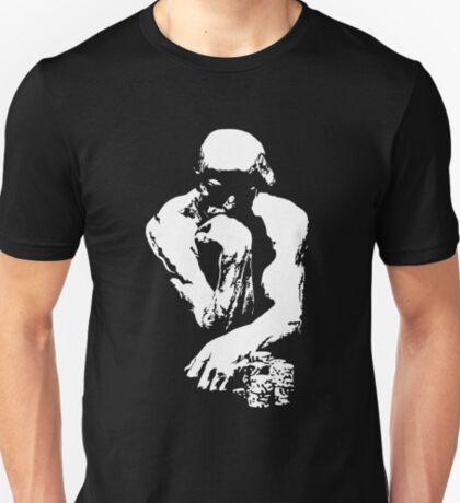 The Thinking Man Poker T-Shirt