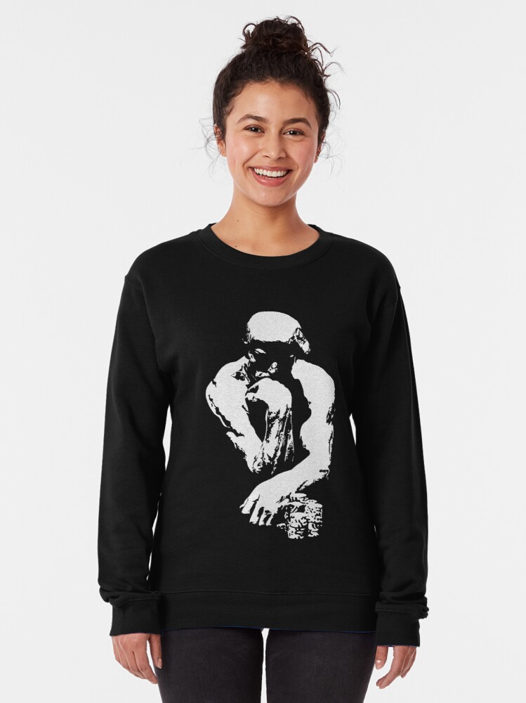 Alternate view of The Thinking Man Poker Pullover Sweatshirt