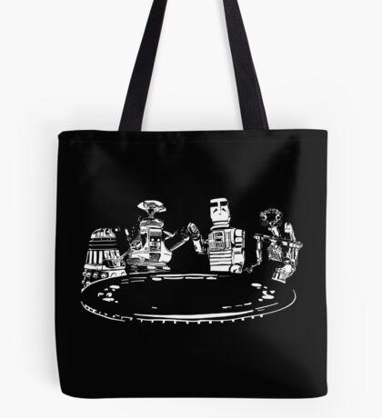 Poker Bots Tote Bag