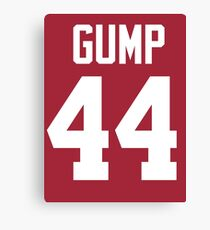 Forrest Gump Alabama Jersey Shirt Canvas Print