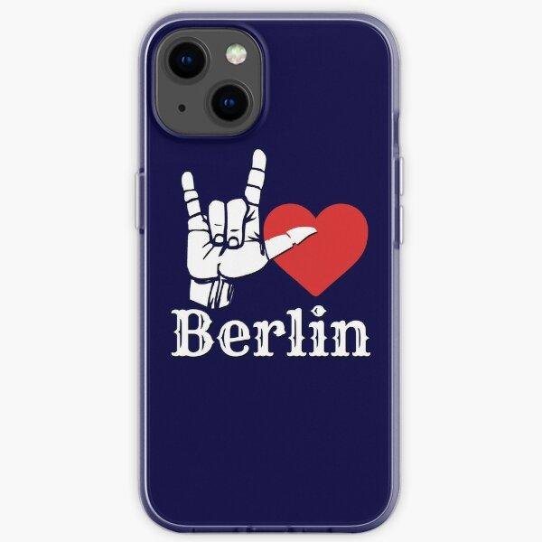 Ich liebe Berlin, Liebeszeichengeschenk iPhone Flexible Hülle