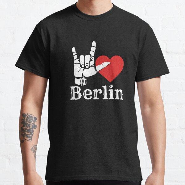 Ich liebe Berlin, Liebeszeichengeschenk Classic T-Shirt