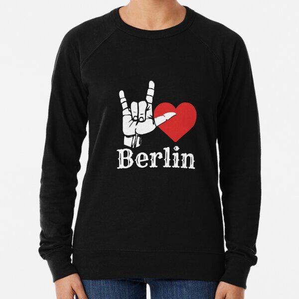 Ich liebe Berlin, Liebeszeichengeschenk Leichter Pullover