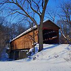 Meems Bottom Covered Bridge by James Brotherton