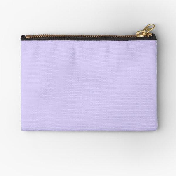 Light Lavender Zipper Pouch