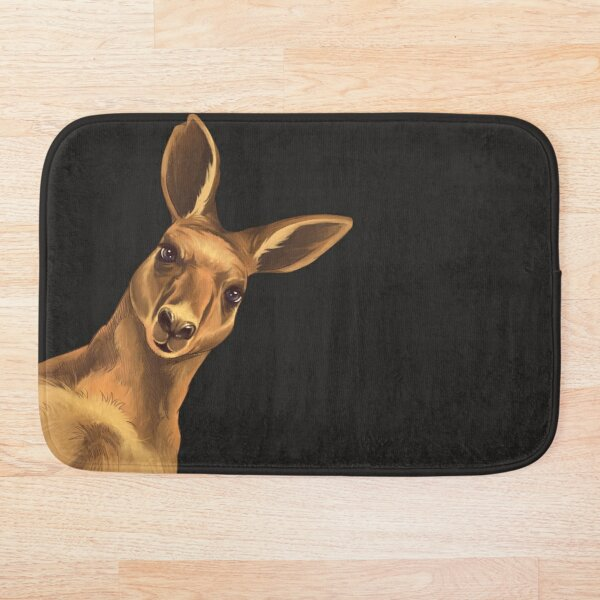 The Original Atheist Roo Bath Mat