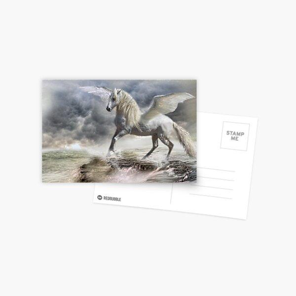I am Pegasus Postcard