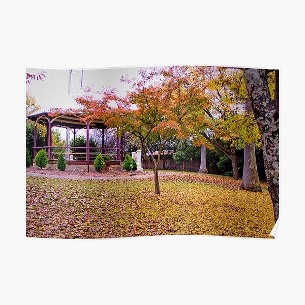 Yackandandah Autumn Series ~ The Rotunda Poster