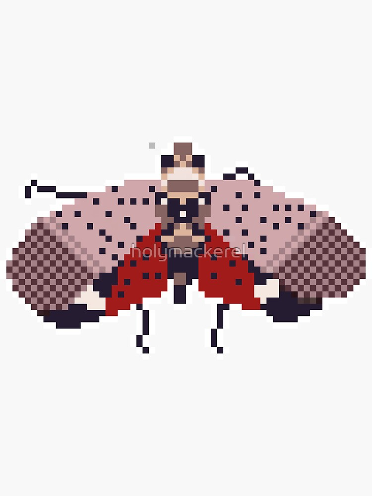 Spotted Lanternfly pixel art by holymackerel