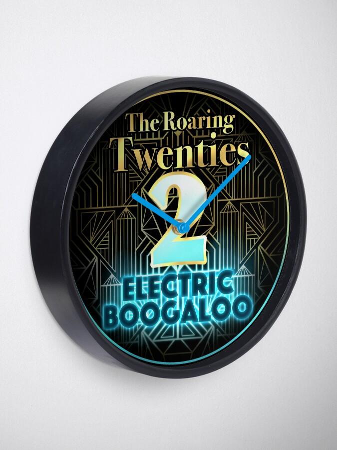 Alternate view of Roaring Twenties 2: Electric Boogaloo Clock
