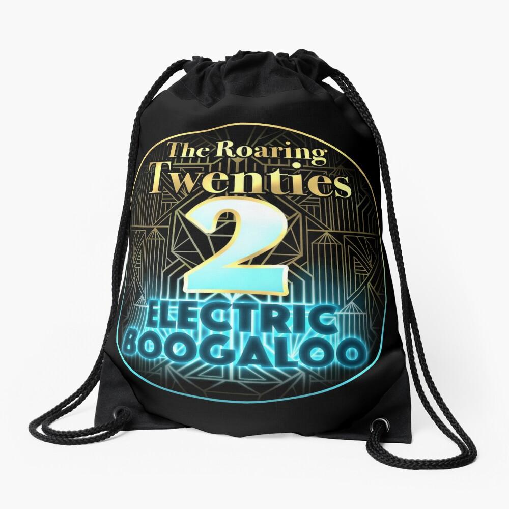 Roaring Twenties 2: Electric Boogaloo Drawstring Bag