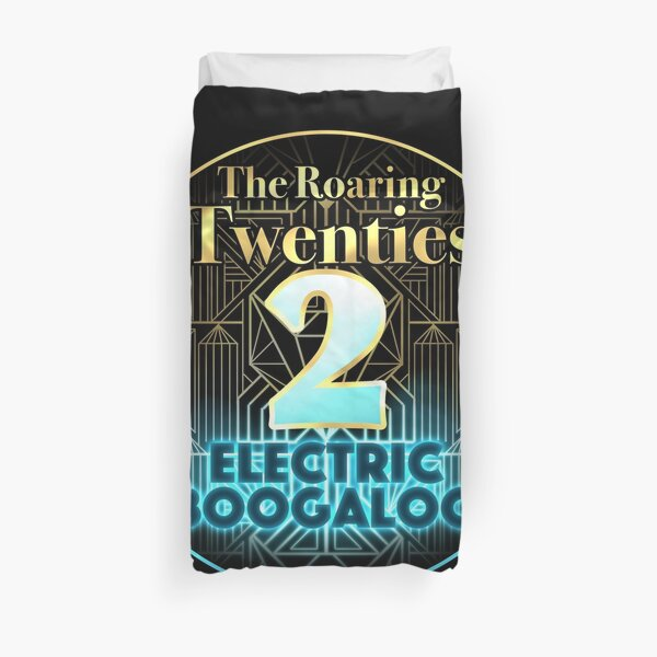 Roaring Twenties 2: Electric Boogaloo Duvet Cover