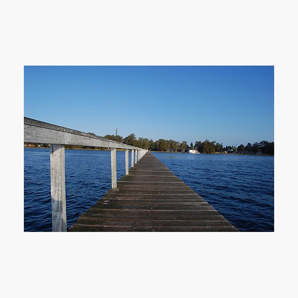 Out On the Water - Long Jetty Photographic Print