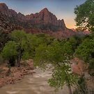 A New Day III (Zion Sunrise) by Wojciech Dabrowski
