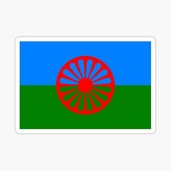 gypsy flag Sticker