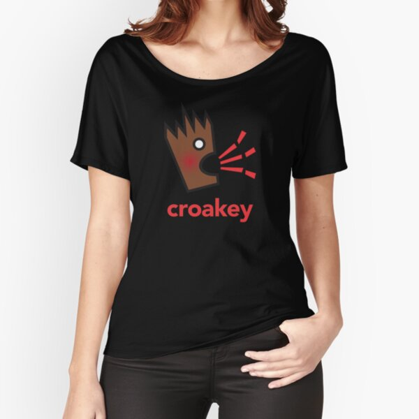Croakey - brown Relaxed Fit T-Shirt
