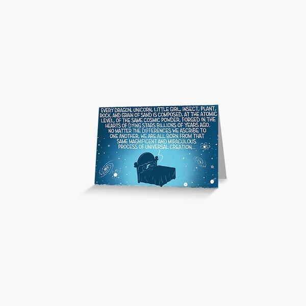 Star Dust Greeting Card
