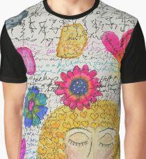 Sleeping Woman Graphic T-Shirt