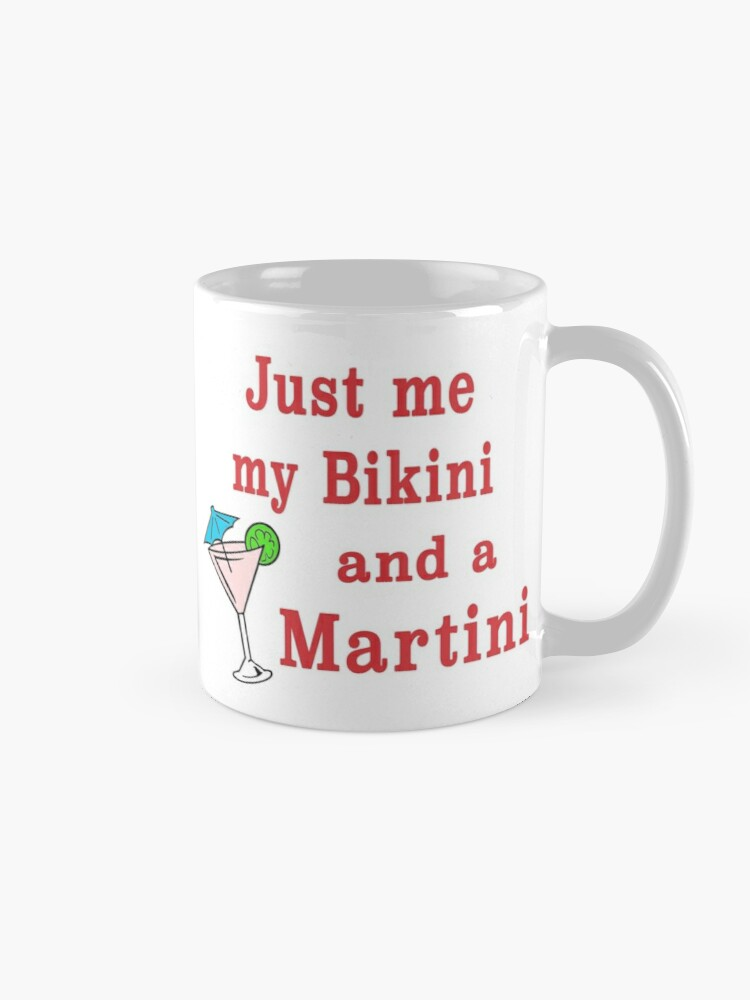 Alternate view of Bikini Martini beachwear swimsuit cosmopolitan. Mug