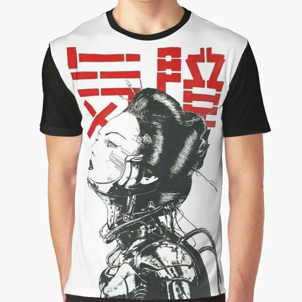 Vaporwave Japanese Cyberpunk Graphic T-Shirt