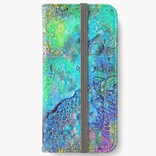 Rainbow Bubbles iPhone Wallet