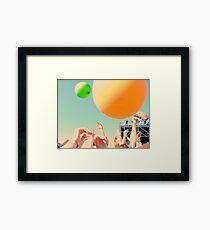 Una tarde de colores Framed Print