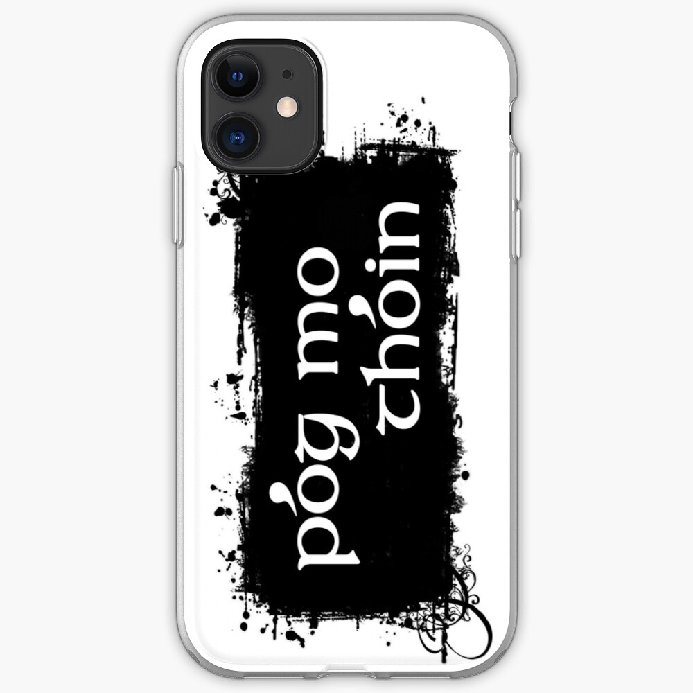 Pog Mo Thoin iPhone Case & Cover
