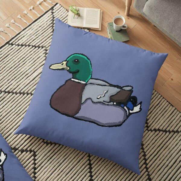 Messy Duck Floor Pillow