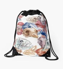 Skull Menagerie  Drawstring Bag