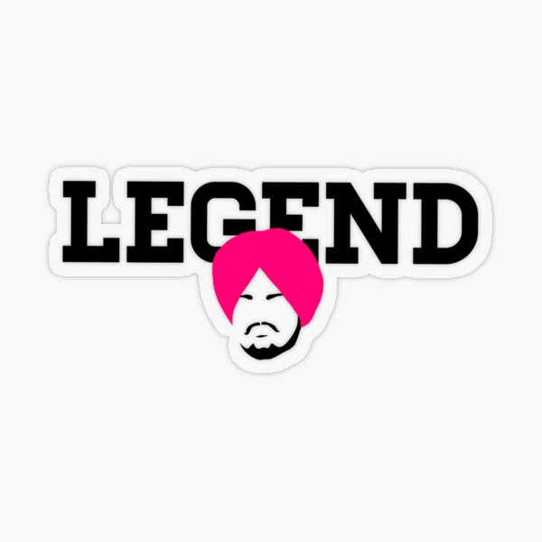 Legend 47 Transparent Sticker