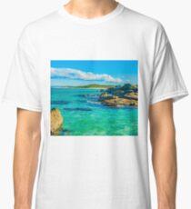 The colour blue & green Classic T-Shirt