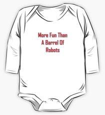 More Fun Than A Barrel Of Robts Kids Clothes