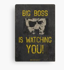 Big Boss Is Watching You! Canvas Print