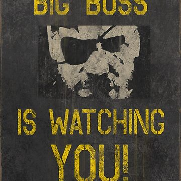 Big Boss Is Watching You! by wearz