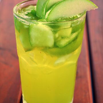 green apple & lime cocktail by scotnamese
