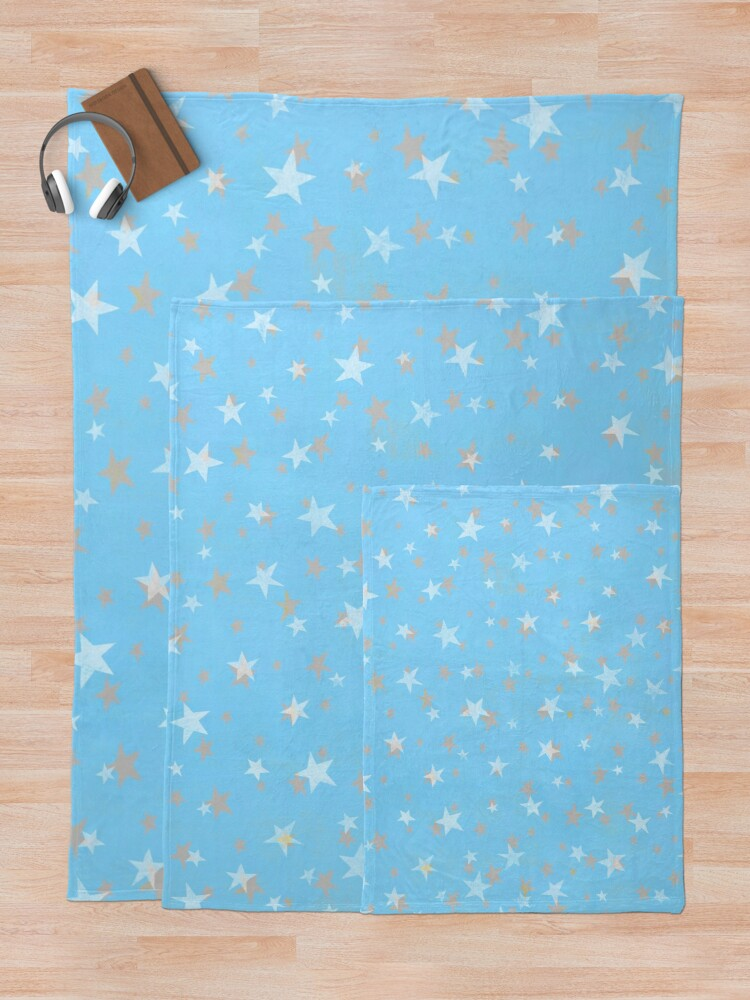 Alternate view of Starry Sky Throw Blanket
