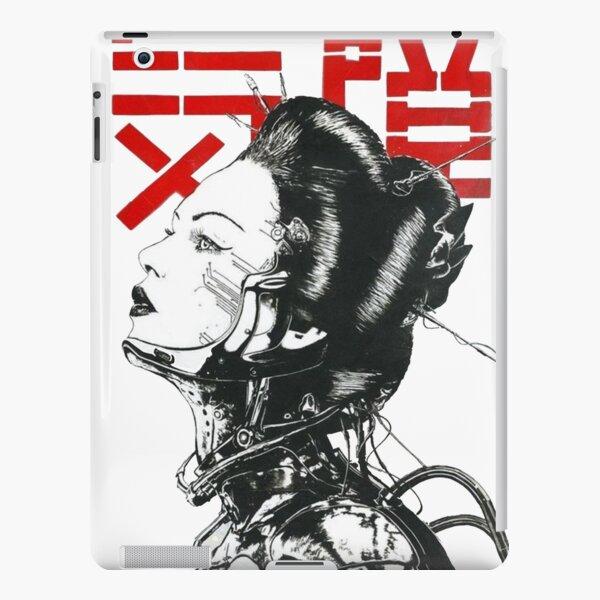 Vaporwave Japanese Cyberpunk iPad Snap Case