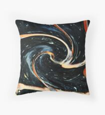 Universe in Motion Throw Pillow