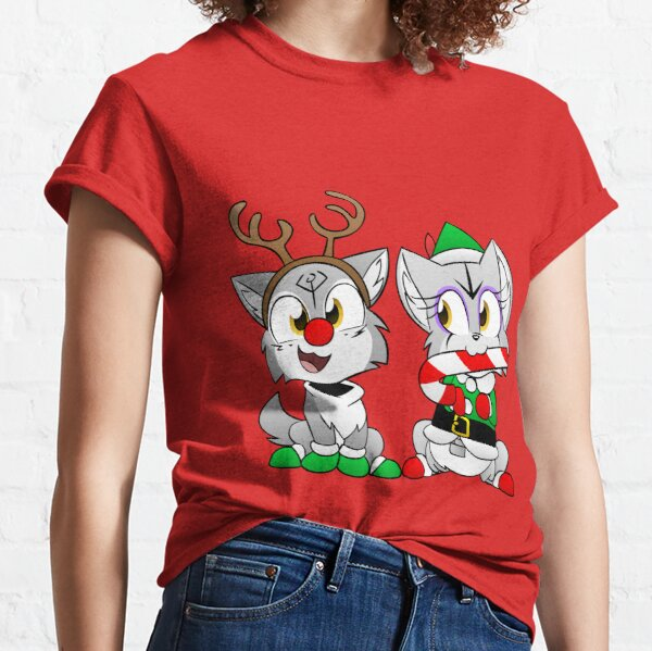 Nuka and Puka Christmas Outifits Classic T-Shirt