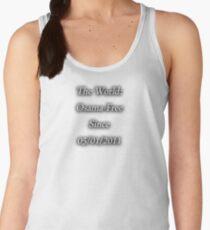 Osama-Free World Women's Tank Top