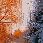 Snowy Trees by M-a-k-s-y-m