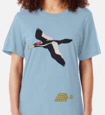 Escape, with Woodpecker Slim Fit T-Shirt
