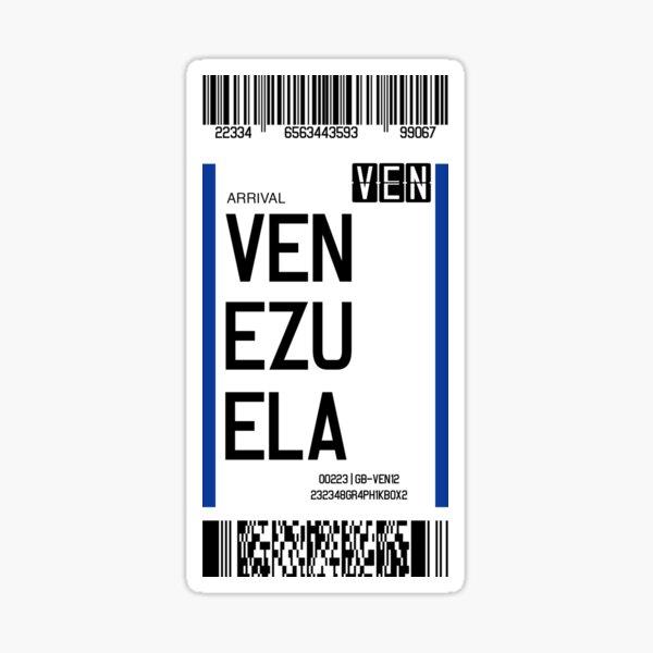 Graphik Box VEN Venezuela | Latin American Destinations Series Pegatina