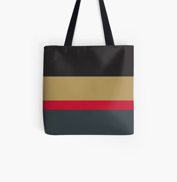 Minnesota Wild Nautical Stripe Tote Bag